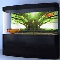 Tree Root PVC Aquarium Background Fish Tank Landscape Poster Decoration
