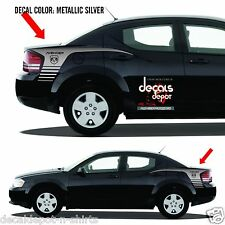 DODGE AVENGER Vinyl Decal Graphics Quarter Panel Stripes SXT 2008 to 2017