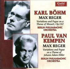 Bohm & Van Kempen Conduct Music by Max Reger, New Music