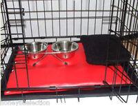 Dog Pet Cage Includes Mat Small Crates Bowls CAT SMALL PETS PUPPIES