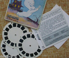 Vintage GAF View Master CASPER THE FREINDLY GHOST B533 cartoon 3 reel set