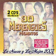 NEW 30 Merengues Pegaditos. Lo Nuevo Y Lo Mejor (Audio CD)