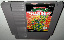 Nintendo NES TMNT II The ARCADE GAME! Super Fun! Teenage Mutant Ninja Turtles