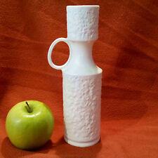 60er Jahre Op-Art Design Vase, KPM Bavaria, Handarbeit Biskuitporzellan, 609/0