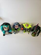 Street sharks toys lot of 4 vintage original from 1994 95 figures only