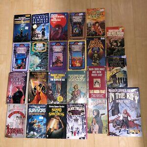 Lot of 23 Marion Zimmer Bradley Science Fiction Fantasy Paperback Darkover Books