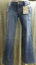 Vintage ROXY Low Rise Sunset Beach Flare Fit Jeans Juniors Size 3