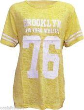 Magliette da donna taglia XL giallo