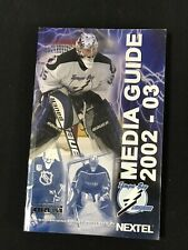 2002-03 Tampa Bay Lightning Media Guide - Package See Summary