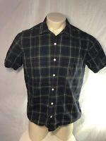 Vintage Polo by Ralph Lauren S/S Button Up Shirt Plaid Mens Large L