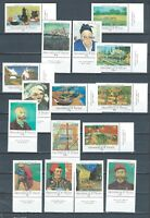 Grenadines of St. Vincent 1991 mnh SPECIMEN stamp set - Van Gogh - Sc 749-64 Art