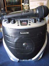 Karaoke USA GQ367 Portable Karaoke Cd+ G Karaoke Player With Microphone