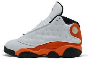 Air Jordan 13 Starfish Retro GS Size 7 Y Orange White DJ3003-108