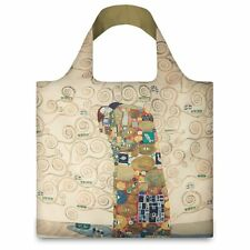 LOQI Artist Museum Collection Tote Bag 'The Fulfilment' Gustav Klimt.