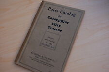CATERPILLAR FIFTY Tractor Crawler Dozer Parts Manual book catalog vintage 50 5A