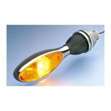 Motorrad Blinker Micro 1000 LED chrom gelb für Harley-Davidson Sportster Hugger