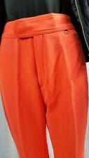 Vintage Ski Pants Schoeller Of Switzerland Flourescent Orange Stirrup sexy  10