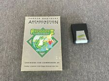Frogger II Threedeep Commodore 64 C64 Computer Complete in Box Cartridge Game