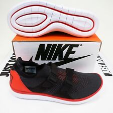$130 Men's Nike Air Sockracer Flyknit Size 10.5 Red/Black Style 898022 600 NEW
