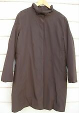 Jones New York 2-in-1 Brown Trench Coat w Removable Faux Fur Warmer Wms XL