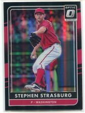 2016 Donruss Optic Black 137 Stephen Strasburg 15/25
