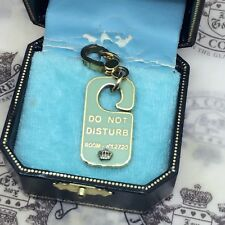 Not Disturb Necklace Bracelet Charm 100% Authentic Juicy Rare 2005 Do
