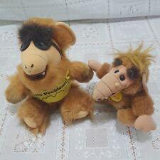 Alf stuffed animal PLUSH LOT Alien VTG RARE sunglasses NO PROBLEM Toy life form