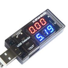 USB Charger Doctor Voltage Current Meter Mobile Battery Tester Power Detector US