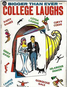 College Laughs No. 22 February 1961 - Don Orehek art