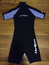 NWOT NeoSport Wetsuit 2.5 mm Shorty Henderson Youth Size 12 Back Zip  Lavender