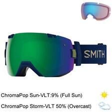 Smith Optics I/OX Snow Sports Goggle (ChromaPop/Green Mirror / Navy Camo Split)