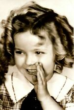 1930's Shirley Temple In Bright Eyes Postcard P152