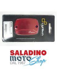 COPERCHIO POMPA FRENO FRIZIONE YAMAHA T-MAX 500 2008-11 ROSSO LIGHTECH FBC15ROS