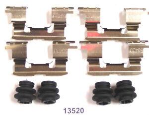 Disc Brake Hardware Kit Front Better Brake 13520K