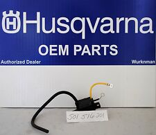 HUSQVARNA OEM  IGNITION COIL 501516201 or 501617201 also  Jonsered