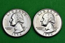 1994 P & D  BU Mint State Washington US Quarters  ( 2 Coins )