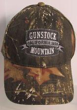 Gunstock Mountain Hat Cap California Camouflage Mossy Oak USA Embroidery New
