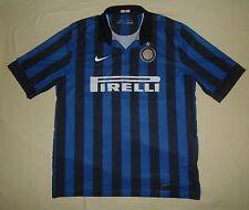 Inter Milan (Internazionale) / 2011-2012 Home - NIKE - MENS Shirt / Jersey. XL