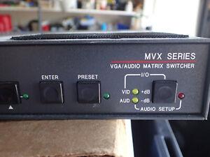EXTRON 33-1023-01 MVX 84 VGA  A - Audio Matrix Switcher