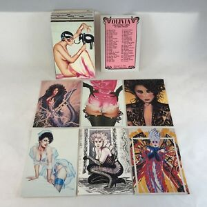 OLIVIA De BERARDINIS SERIES 1 (1992) Complete Trading Card Set FIRST OLIVIA SET!