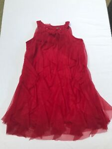 Zara Girls Soft Collection Red Tunic Top Size 7-8 /128 cm