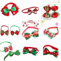 Christmas Cute Dog Cat Pet Puppy Bow-knot Necktie Collar Bow Tie Clothes Decer T