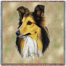 Lap Square Blanket - Shetland Sheepdog Sheltie by Robert May 1163