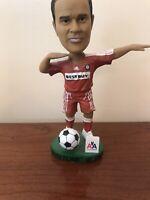 Cuauhtemoc Blanco Chicago Fire SGA MLS Soccer BobbleHead Red Jersey