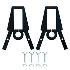 Highwild AR500 Steel 2x4 & Pipe Target Stand Brackets (2 Pcs)