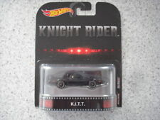HOT WHEELS DIE CAST ENTERTAINMENT SET SERIES METAL/METAL KNIGHT RIDER KITT CAR