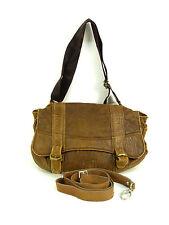 Marni cuero bolso de mano en marrón!!! Echt Leder & Vintage look (m 6677)