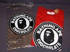 A Bathing Ape Chocoolape Bape Chocoolate Tee Cap Full Set Red Original 2009