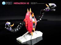 HL PRO METALTECH 10 GORU GORU from UFO ROBOT GRENDIZER GOLDRAKE 38cm NUOVO NEW