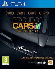 Proyecto cars-Edición Juego del Año (PS4) Nuevo Sellado
